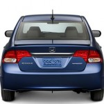 2009 Honda Civic Hybrid - Exterior Rear View