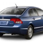 2009 Honda Civic Hybrid - Exterior Rear Quarter View