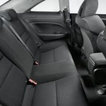2009 Honda Civic Si - Interior Rear Seats