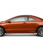 2009 Honda Civic Si - Left side view